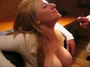 Milf gets huge load