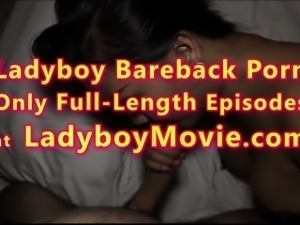 Ladyboy Amy Fucks Guy Bareback