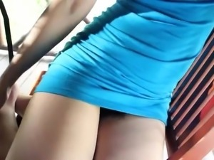 my cute asian girlfriend opens her legs, so i can finger her