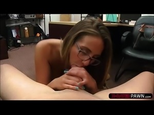 Latina and slutty Layla London gets fucked by Shawn in his office