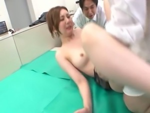 Classy Japanese hussy gets her tight Asian cunt penetrated