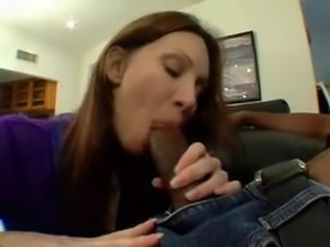 Hot wife seduce husband's black friend