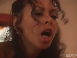 Big boobed exotic hottie Olivia Del Rio and her brutal lover fuck in bath tub...
