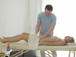 The thing that gets Rita hot about getting a massage isn't so much where the...