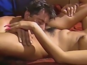 Hot Asian Women With Long Nails getting banged