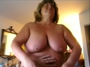 Super fat and big breasted mature housewife wanted to ride a fat cock