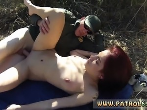 Police woman bondage and fucked and police agent first time