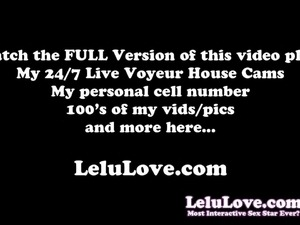 Lelu Love-Sybian TWO Orgasms Challenge Game