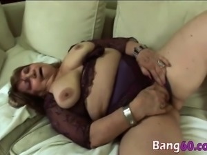 BBW 60 years awesome banging experience