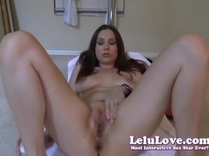 Lelu Love-Oily Fingering Masturbation Orgasm