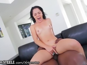 Kristina Rose Opens Ass for Lex Steeles HUGE Cock