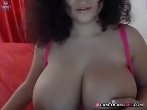 perfect tits Latin webcam slut -  camtocambabe.com