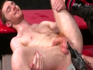 Tricks to anal fisting gay xxx Seamus O'Reilly waits - booty up as
