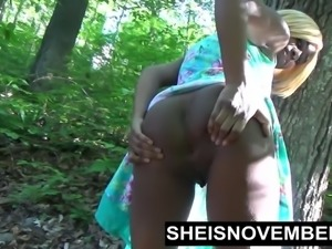 Msnovember Sucking Cock In Road Sloppy Blowjob Ebony Teen
