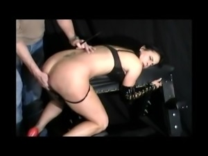ANNAP MILF PORN STAR ESCORT SUBMITTING TO MASTER IN DUNGEON