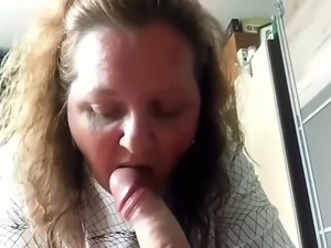 My neighbor's wife gives perfect POV style blowjobs