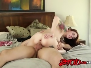 Anna DeVille Gets Banged Hard in the Ass