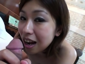 Subtitled uncensored Japanese Osaka amateur blowjob in HD