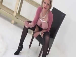 British MILF Wants nephew To Wank