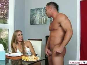 Nicole Aniston just needs to let out some stress and have sex