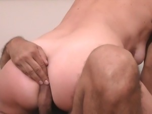 A Milf's anus is repeatedly drilled at her request