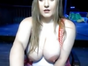 She likes to suck her own nipples