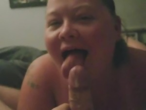BBW POV Blowjob part 3 of 6 xxx 1st cum shot
