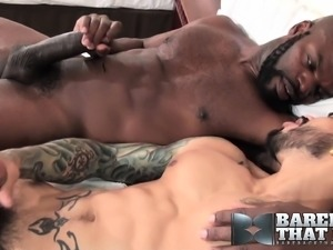 Cutler X and Draven Torres have an intense interracial fuck fest