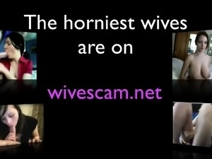 Squirting white wife