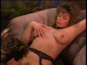 Buxom blonde housewife Tracey Adams has Cal Jammer banging her peach